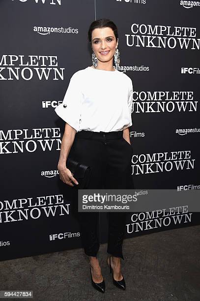 Rachel Weisz attends the 'Complete Unknown' New York Premiere at Metrograph on August 23 2016 in New York City