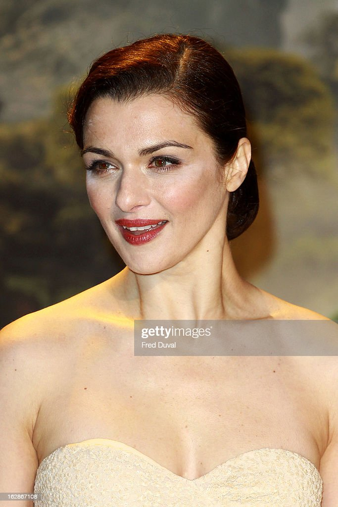 Rachel Weisz attends the European Film Premiere of 'Oz: The Great And Powerful' at The Empire Cinema on February 28, 2013 in London, England.