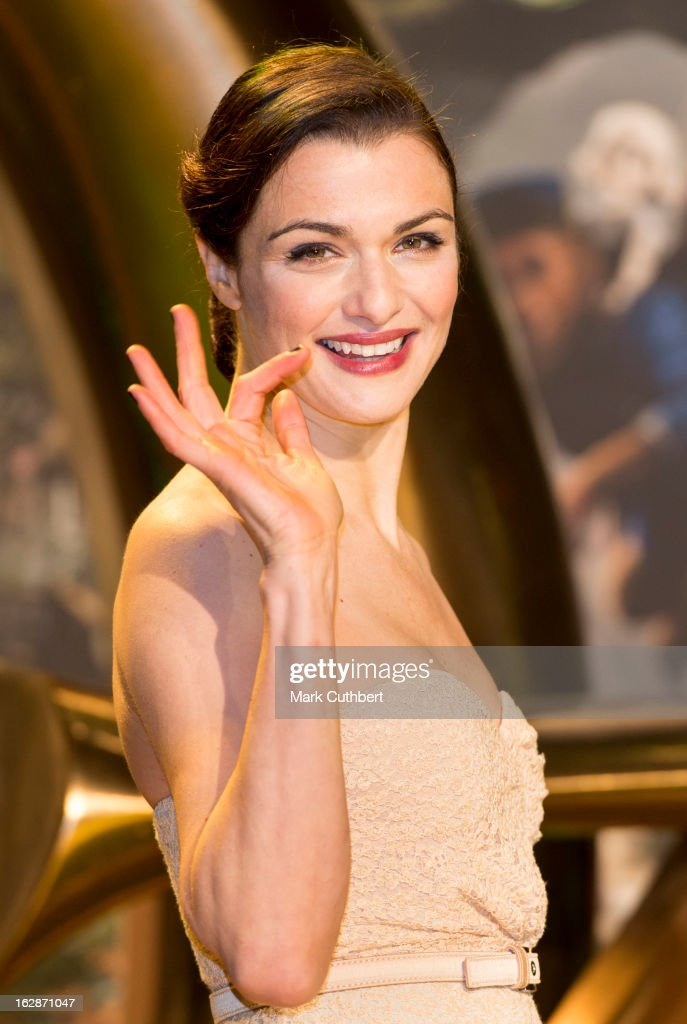 Rachel Weisz attends the European premiere of 'Oz: The Great and Powerful' at Empire Leicester Square on February 28, 2013 in London, England.