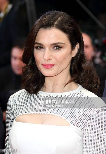 Rachel Weisz attends the 'Lobster' Premiere during the 68th annual Cannes Film Festival on May 15 2015 in Cannes France