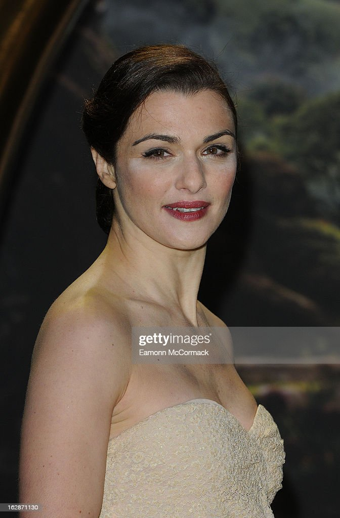 Rachel Weisz attends the UK Premiere of 'Oz: The Great and Powerful' at Empire Leicester Square on February 28, 2013 in London, England.