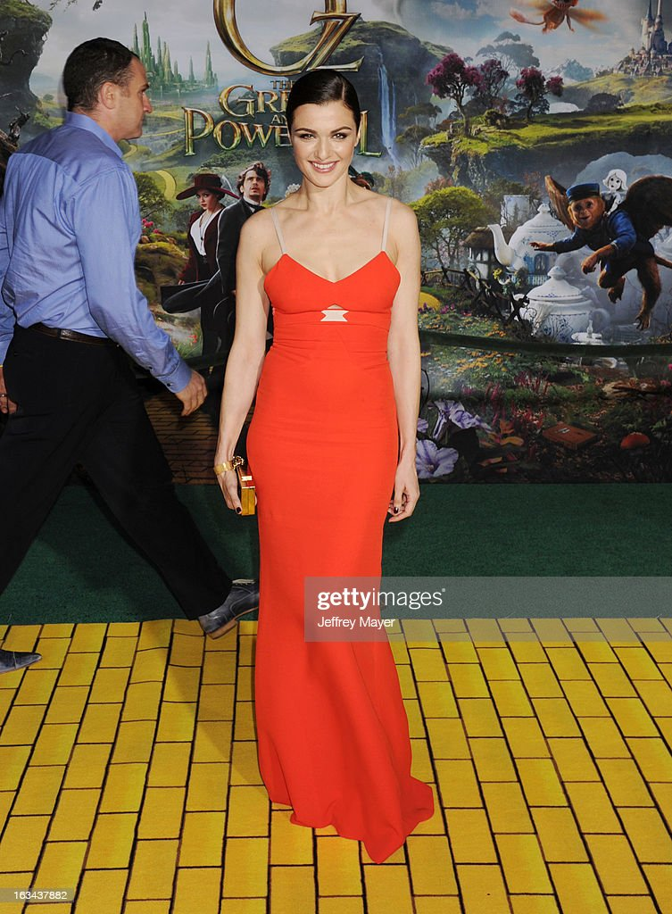 Rachel Weisz attends the world premiere of Disney's 'OZ The Great And Powerful' at the El Capitan Theatre on February 13, 2013 in Hollywood, California.