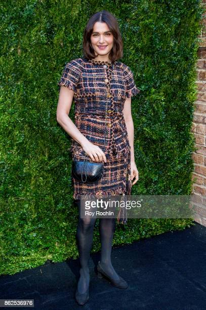 Rachel Weisz attends Through Her Lens The Tribeca Chanel Women's Filmmaker Program Luncheon at Locanda Verde on October 17 2017 in New York City