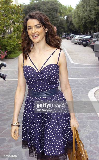 Rachel Weisz during 2005 Venice Film Festival Celebrity Sightings Outside the Des Bains Hotel September 8 2005 at Des Bains Hotel in Venice Lido Italy
