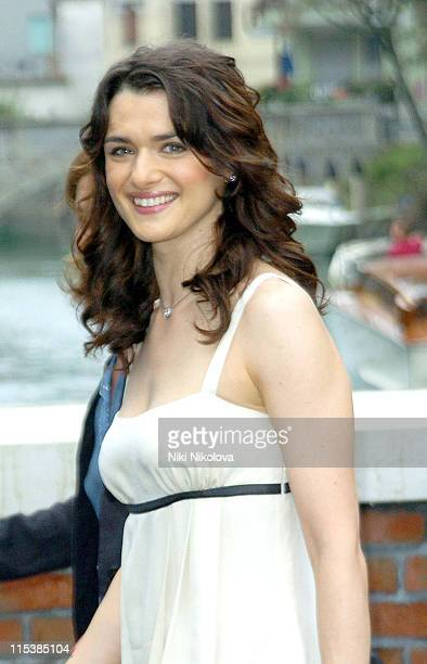 Rachel Weisz during 2005 Venice Film Festival 'The Constant Gardener' Photocall at Venice Lido in Venice Italy