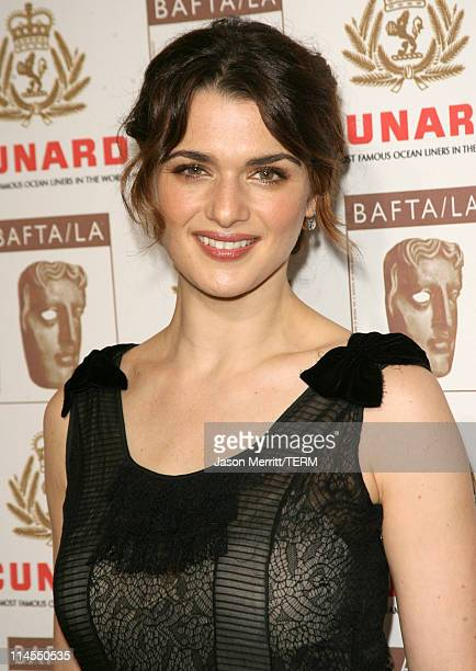 Rachel Weisz during 2006 BAFTA/LA Cunard Britannia Awards Arrivals at Hyatt Regency Century Plaza Hotel in Los Angeles California United States