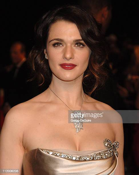 Rachel Weisz during 2007 Vanity Fair Oscar Party Hosted by Graydon Carter Arrivals at Mortons in West Hollywood California United States