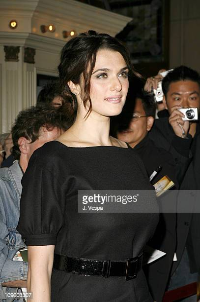 Rachel Weisz during 31st Annual Toronto International Film Festival 'The Fountain' Premiere Red Carpet and Inside at Visa Screening Room in Toronto...