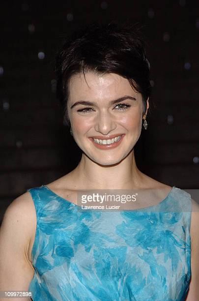 Rachel Weisz during 4th Annual Tribeca Film Festival Vanity Fair Party at New York Supreme Court in New York City New York United States