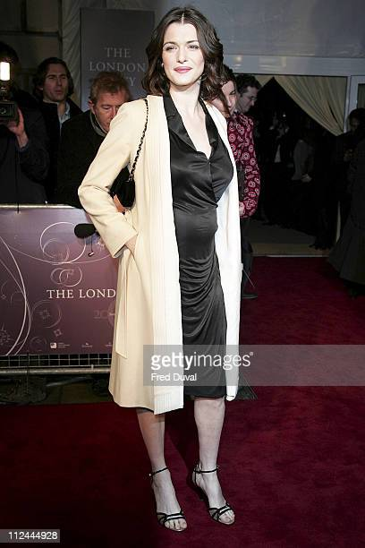 Rachel Weisz during Annabel's PreBAFTA Party February 18 2006 at Spencer House in London Great Britain