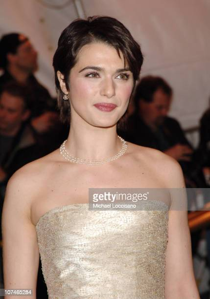 Rachel Weisz during 'Chanel' Costume Institute Gala Opening at the Metropolitan Museum of Art Arrivals at Metropolitan Museum of Art in New York City...
