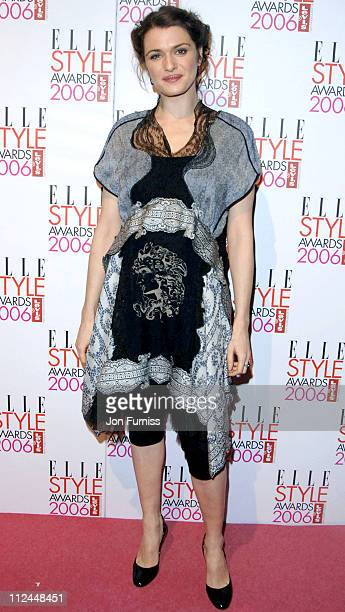 Rachel Weisz during Elle Style Awards 2006 Inside Arrivals at Old Truman Brewery in London Great Britain