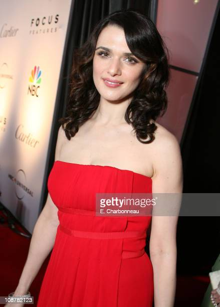 Rachel Weisz during Focus Features Golden Globes After Party at Beverly Hilton in Los Angeles California United States
