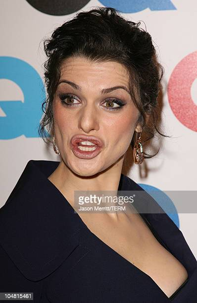Rachel Weisz during GQ Celebrates 2005 Men of the Year Arrivals at Mr Chow in Beverly Hills California United States
