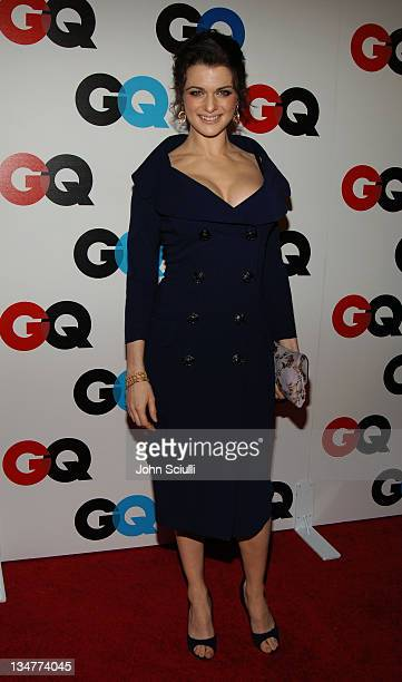 Rachel Weisz during GQ Magazine Celebrates the 2005 Men of the Year Arrivals at Mr Chow in Beverly Hills California United States