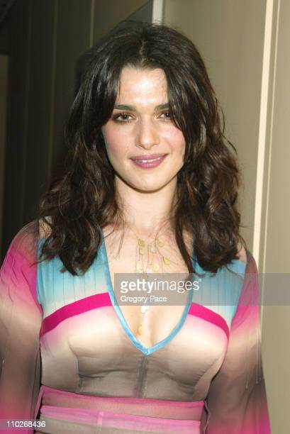 Rachel Weisz during Opening Night of the 43rd Annual New York Film Festival 'Good Night and Good Luck' Premiere Green Room at Avery Fisher Hall...