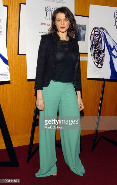 Rachel Weisz during The 21st Israel Film Festival Opening Night Gala Arrivals at Academy of Motion Pictures Arts Sciences in Beverly Hills California...