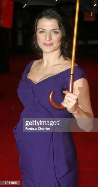 Rachel Weisz during The Orange British Academy Film Awards 2006 Outside Arrivals at Odeon Leicester Square in London Great Britain