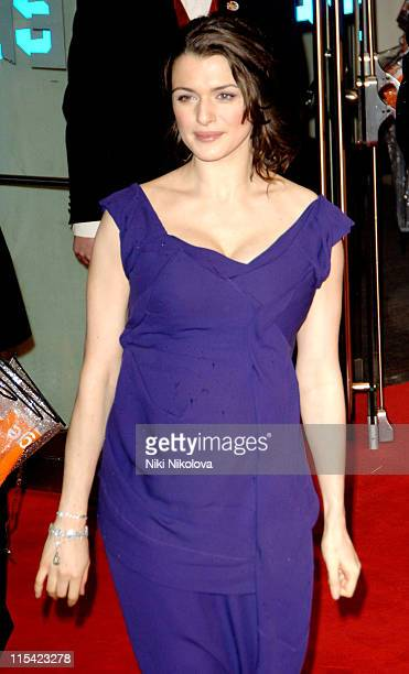 Rachel Weisz during The Orange British Academy Film Awards 2006 Arrivals at Odeon Leicester Square in London Great Britain