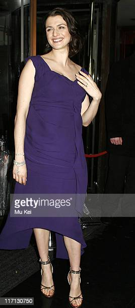 Rachel Weisz during The Orange British Academy Film Awards 2006 Aftershow Party at Grosvenor House Hotel in London Great Britain