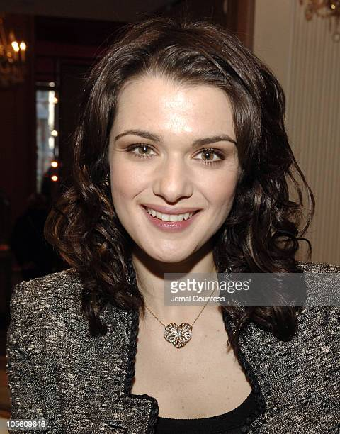 Rachel Weisz in Cartier Jewelry during Rachel Weisz Hosts the Cartier Red Bow Unveiling to Kick Off the Holiday Season at Cartier Boutique in New...