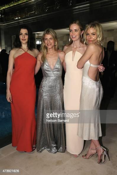 Rachel Weisz Melanie Laurent Emily Blunt and Sienna Miller attend IFP Calvin Klein Collection euphoria Calvin Klein celebrate Women in Film at the...
