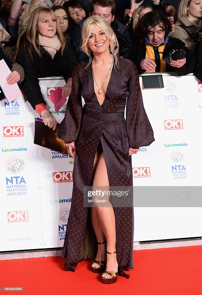 Rachel Wilde attends the National Television Awards at 02 Arena on January 22, 2014 in London, England.