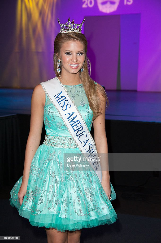 Rachel Wyatt attends the Miss America 2013 Mallory Hagan Official Homecoming Celebration at The Fashion Institute of Technology on March 16, 2013 in New York City.