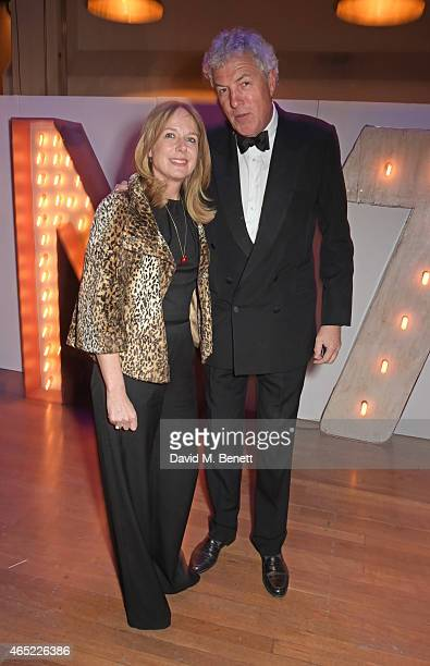 Rachel Wyndham and Henry Wyndham attend Fast Forward The National Theatre's fundraising gala at The National Theatre on March 4 2015 in London England