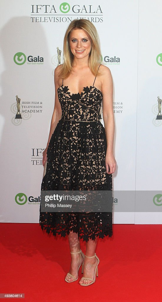 Rachel Wyse attends the IFTA Gala Television Awards on October 22, 2015 in Dublin, Ireland.