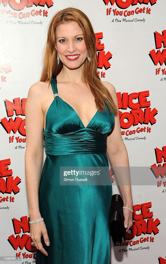 Rachel York attends the 'Nice Work If You Can Get It' Broadway opening night at the Imperial Theatre on April 24, 2012 in New York City.