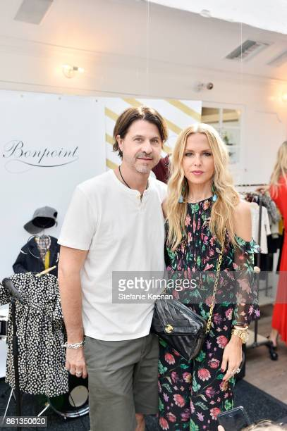 Rachel Zoe and Rodger Berman attend Bonpoint Baby2Baby Celebrate At Au Fudge With Estee Stanley Kelly Sawyer Patricof And Norah Weinstein at Au Fudge...