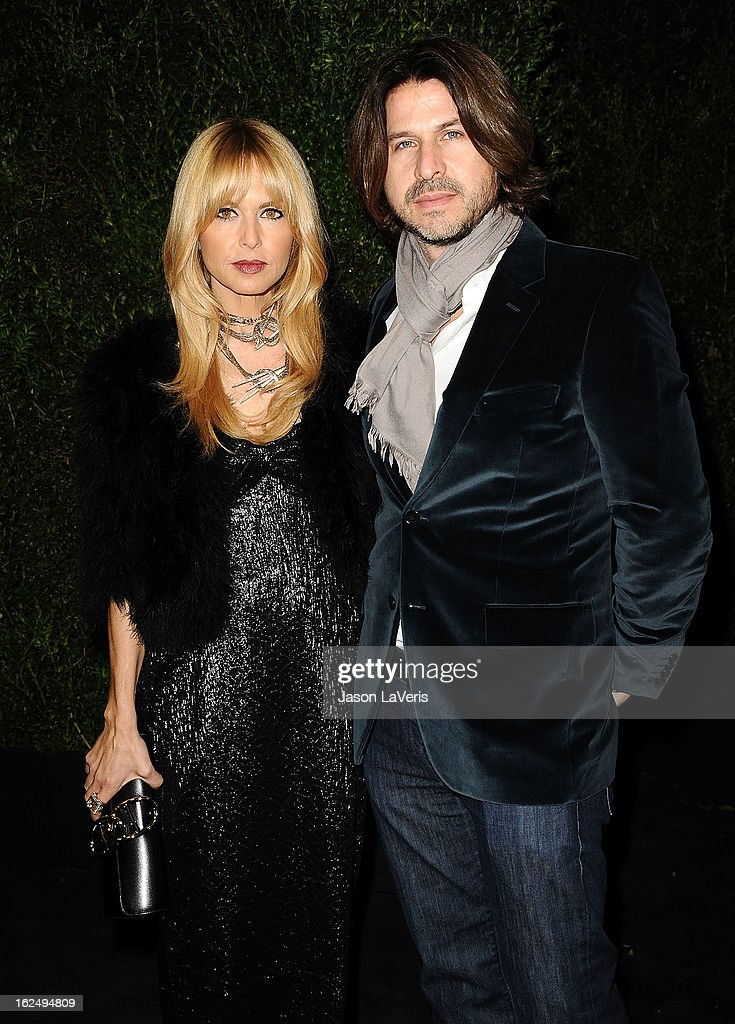 <a gi-track='captionPersonalityLinkClicked' href=/galleries/search?phrase=Rachel+Zoe+-+Stylist&family=editorial&specificpeople=546501 ng-click='$event.stopPropagation()'>Rachel Zoe</a> and Rodger Berman attend the Chanel Pre-Oscar dinner at Madeo Restaurant on February 23, 2013 in Los Angeles, California.
