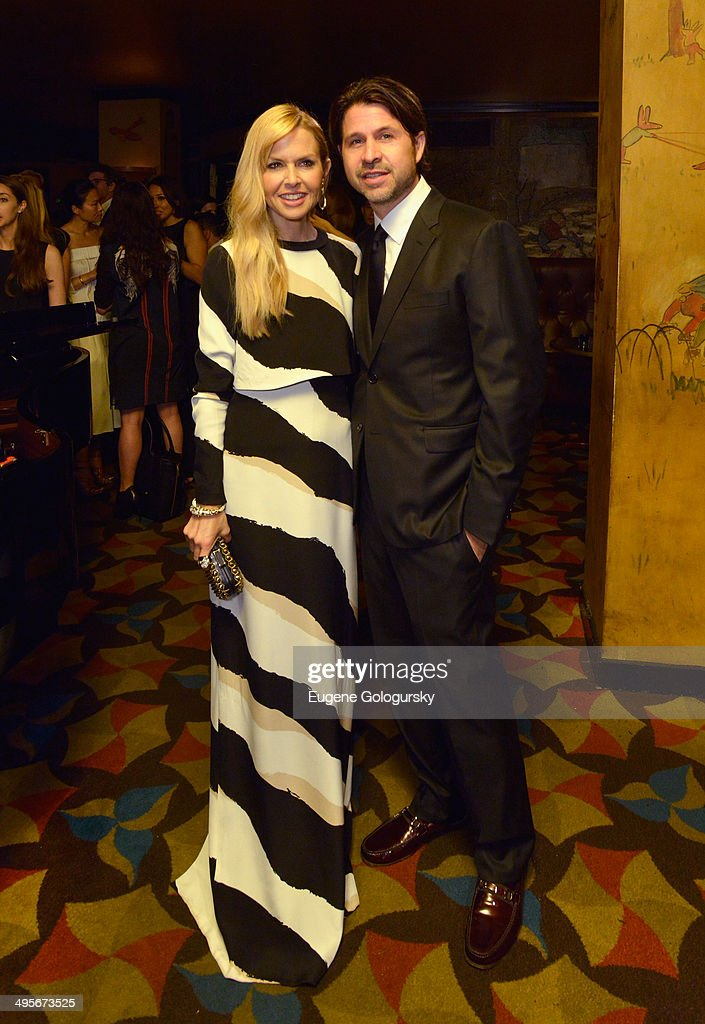 Rachel Zoe (L) and Rodger Berman attend the Gucci beauty launch event hosted by Frida Giannini on June 4, 2014 in New York City.