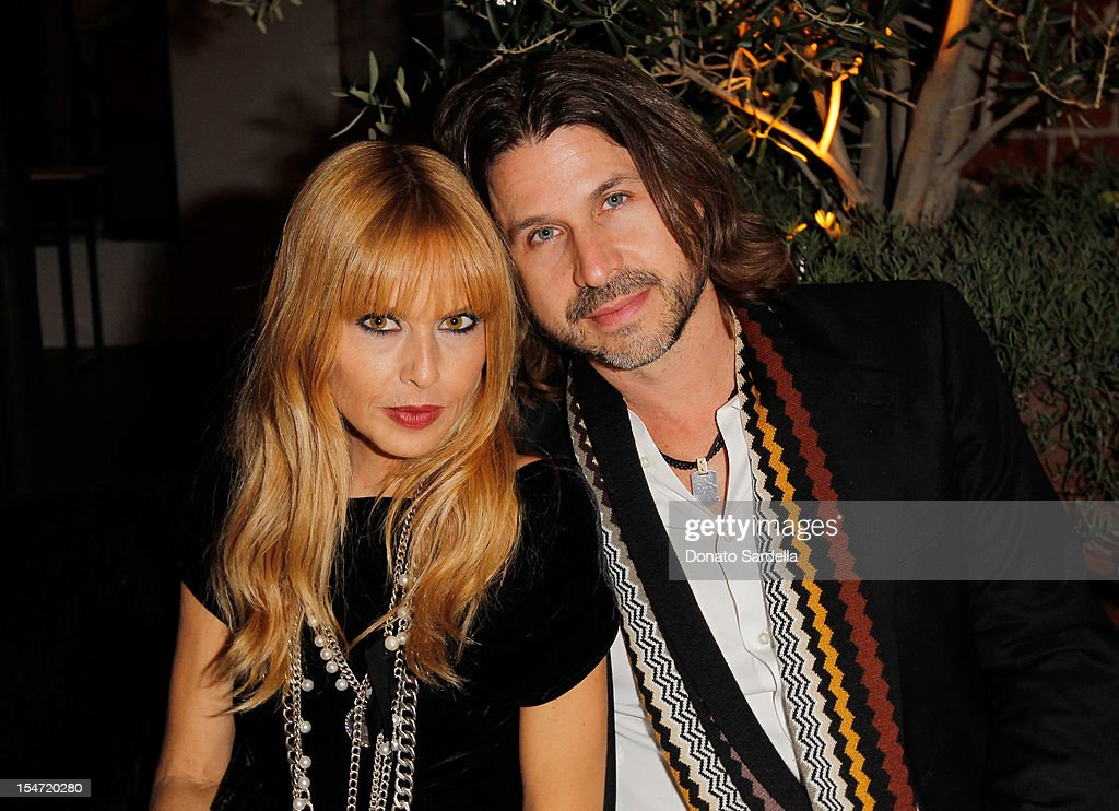 <a gi-track='captionPersonalityLinkClicked' href=/galleries/search?phrase=Rachel+Zoe+-+Stylist&family=editorial&specificpeople=546501 ng-click='$event.stopPropagation()'>Rachel Zoe</a> and Rodger Berman attend W's Stefano Tonchi and Catherine Keener celebrate W's 40th Anniversary and the Book Release of 'W: The First 40 Years' at Spago on October 24, 2012 in Beverly Hills, California.