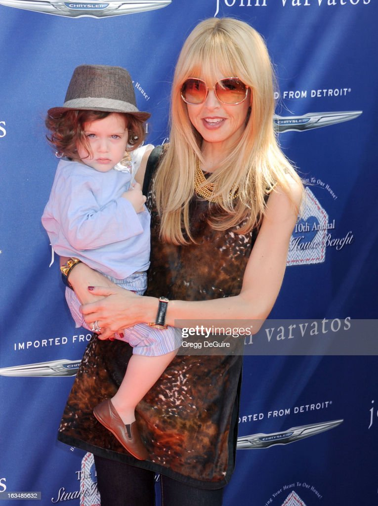 <a gi-track='captionPersonalityLinkClicked' href=/galleries/search?phrase=Rachel+Zoe+-+Stylist&family=editorial&specificpeople=546501 ng-click='$event.stopPropagation()'>Rachel Zoe</a> and son Skyler arrive at John Varvatos 10th Annual Stuart House Benefit at John Varvatos Los Angeles on March 10, 2013 in Los Angeles, California.