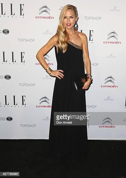 Rachel Zoe arrives at Elle Style Awards 2014 at on October 24 2014 in Sydney Australia