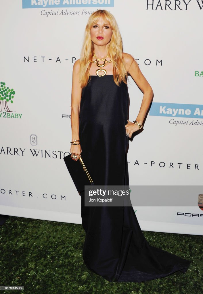 Rachel Zoe arrives at the 2nd Annual Baby2Baby Gala at The Book Bindery on November 9, 2013 in Culver City, California.