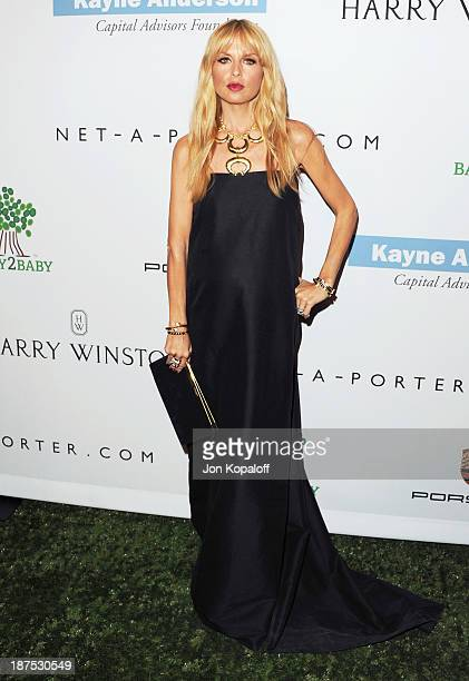Rachel Zoe arrives at the 2nd Annual Baby2Baby Gala at The Book Bindery on November 9 2013 in Culver City California