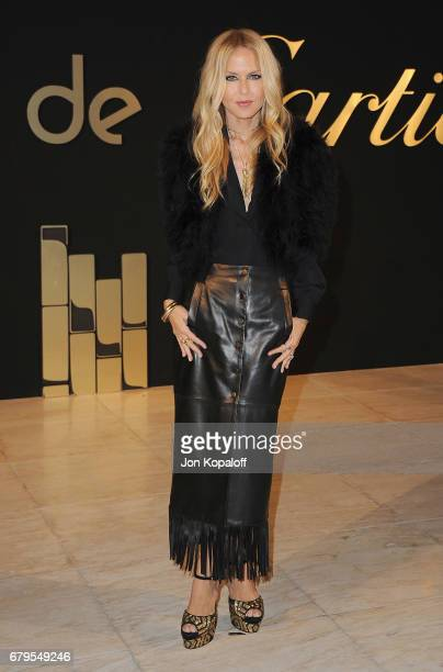 Rachel Zoe arrives at the Panthere De Cartier Party In LA at Milk Studios on May 5 2017 in Los Angeles California