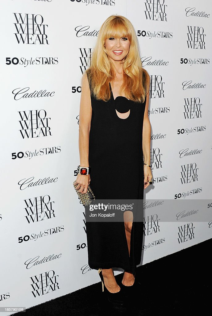 Rachel Zoe arrives at Who What Wear And Cadillac's 50 Most Fashionable Women Of 2013 at The London Hotel on October 24, 2013 in West Hollywood, California.