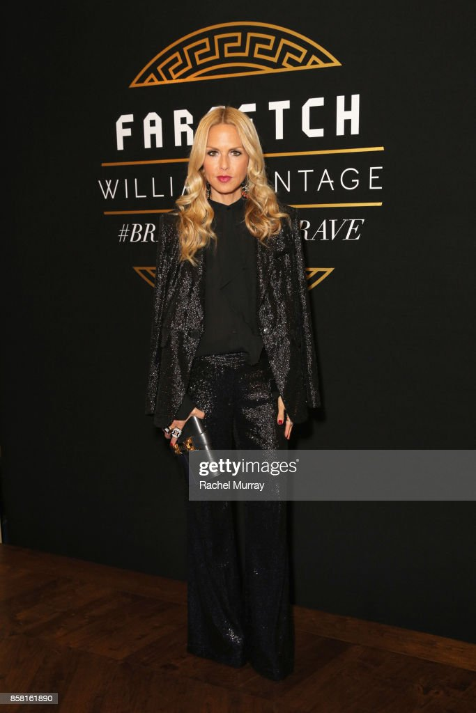 Rachel Zoe at Farfetch and William Vintage Celebrate Gianni Versace Archive hosted by Elizabeth Stewart and William Banks-Blaney on October 5, 2017 in Los Angeles, California.