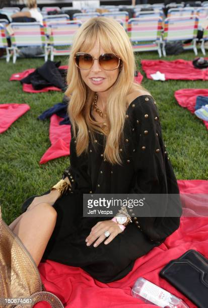 Rachel Zoe attends Eddie Vedder and Zach Galifianakis Rock Malibu Fundraiser for EBMRF and Heal EB on September 15 2013 in Malibu California