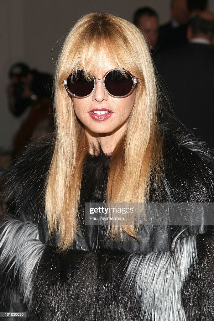 Rachel Zoe attends Reed Krakoff during Fall 2013 Mercedes-Benz Fashion Week on February 13, 2013 in New York City.