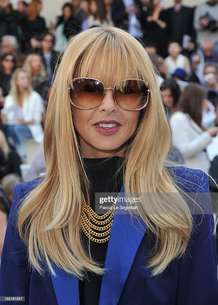 Rachel Zoe attends the Chloe Spring / Summer 2013 show as part of Paris Fashion Week at Espace Ephemere Tuileries on October 1, 2012 in Paris, France.