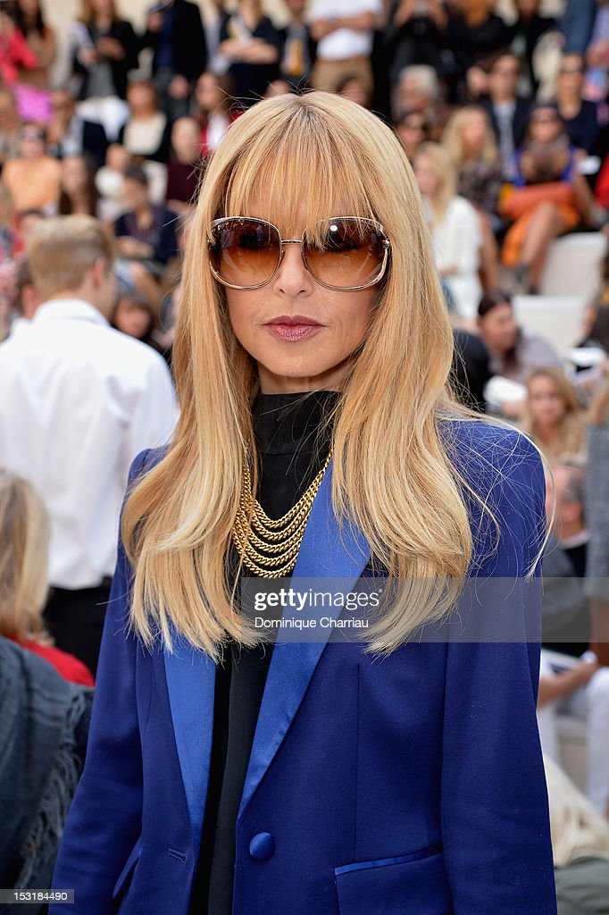 <a gi-track='captionPersonalityLinkClicked' href=/galleries/search?phrase=Rachel+Zoe+-+Stylistin&family=editorial&specificpeople=546501 ng-click='$event.stopPropagation()'>Rachel Zoe</a> attends the Chloe Spring / Summer 2013 show as part of Paris Fashion Week at Espace Ephemere Tuileries on October 1, 2012 in Paris, France.