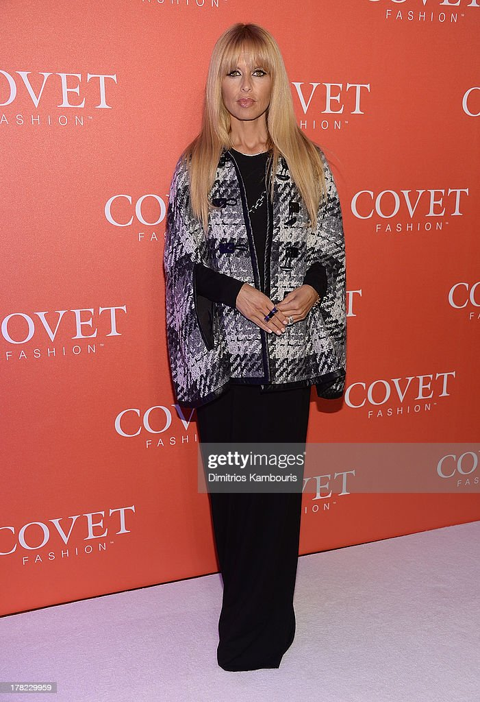 <a gi-track='captionPersonalityLinkClicked' href=/galleries/search?phrase=Rachel+Zoe+-+Stylist&family=editorial&specificpeople=546501 ng-click='$event.stopPropagation()'>Rachel Zoe</a> attends the COVET Fashion Launch Event at 82 Mercer on August 27, 2013 in New York City.