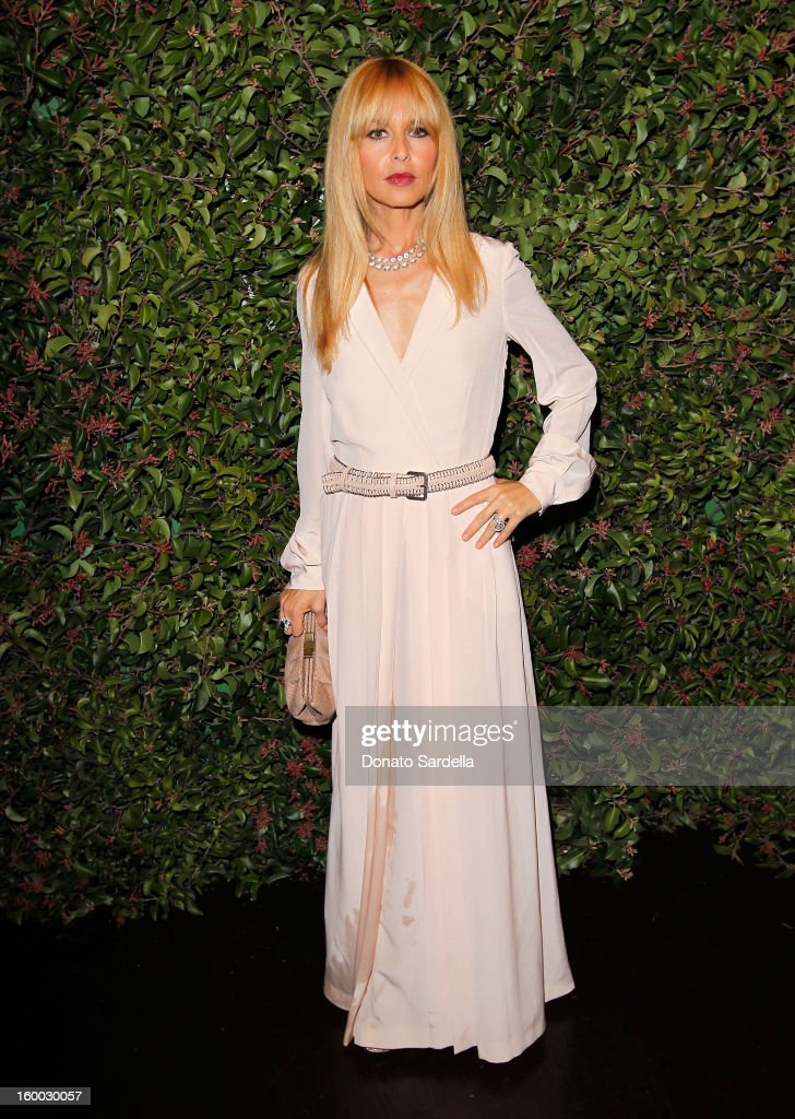 Rachel Zoe attends the Ferragamo presentation Spring Summer Runway Collection with VIP dinner, hosted by Jacqui Getty and Harpers BAZAAR at Chateau Marmont on January 24, 2013 in Los Angeles, California.