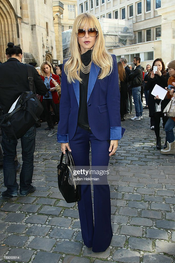 Rachel Zoe attends the Giambattista Valli Spring / Summer 2013 show as part of Paris Fashion Week on October 1, 2012 in Paris, France.