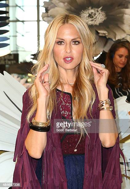 Rachel Zoe attends the 'Icons of Style' breakfast at Chadstone Shopping Centre on August 21 2015 in Melbourne Australia